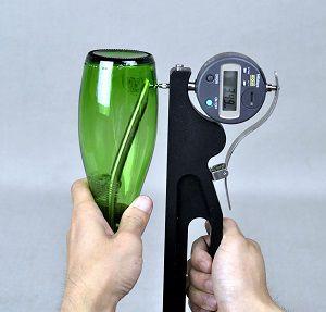 Thiết bị đo độ dày chai thủy tinh BTG-D - Đại lý AT2E Việt Nam