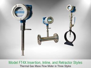 Thiết bị đo lưu lượng khí Fox Thermal FT4X