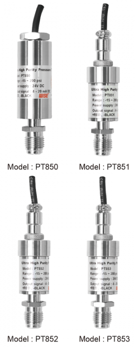 Cảm biến đo áp suất PT850