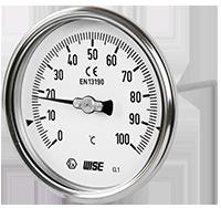 Đồng hồ đo áp suất có dầu Wise T112, Wise Viet Nam-TMP VietNam