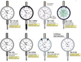 Đồng hồ so TM-5106, TM-5106f,TM-5105,TM-5105f,TM-105