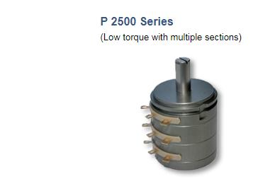 Rotary Sensor Potentiometer Novotechnik P 2500