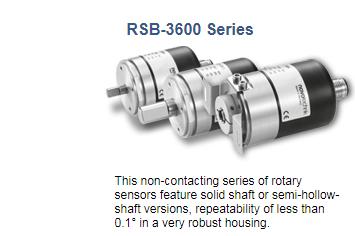 Rotary Position Sensor Novetechnik RSB-3600