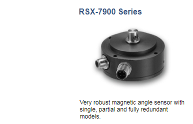 Angle Sensors with CANopen Interface novotechnik RSX-7900