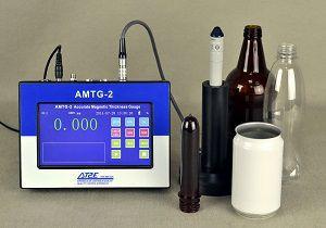 Thiết bị đo độ dày chai nhựa, thủy tinh AMTG-2 - Đại lý AT2E Việt Nam