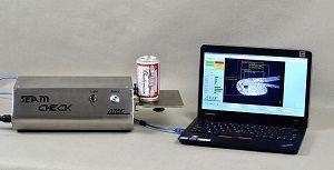 Thiết bị kiểm tra chất lượng độ ghép mí mép lon SEAMCHECK AT2E
